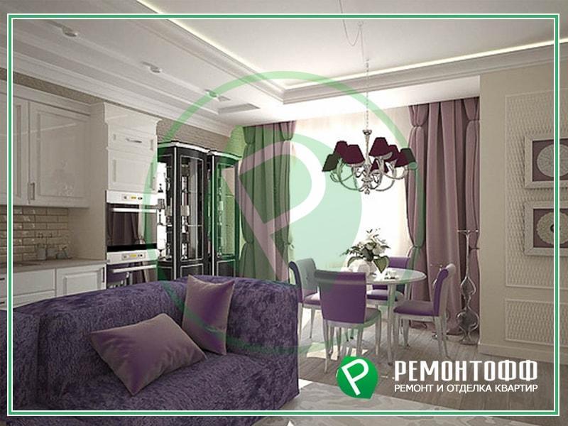 Дизайн квартиры 42 м2