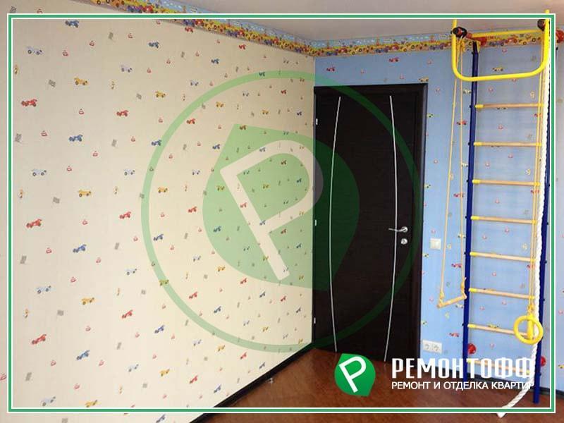 Ремонт в детской комнате 12м2